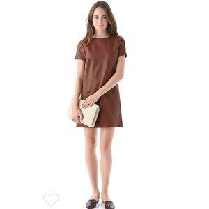 Jenni Kayne Leather Zip Dress